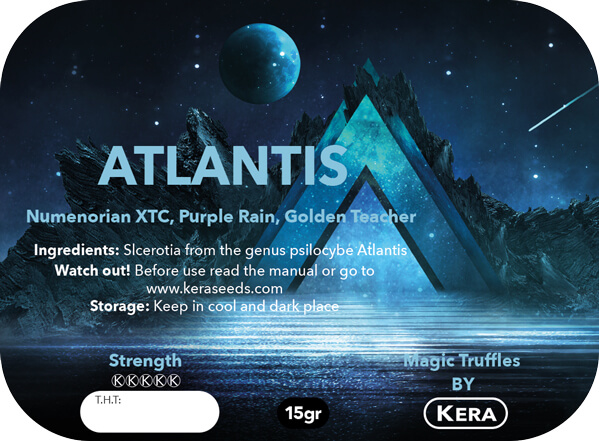 Magic Truffles By Kera – Truffel Atlantis – 15 gram