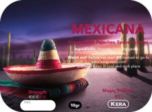 Magic Truffles By Kera – Truffel Mexicana – 10 gram
