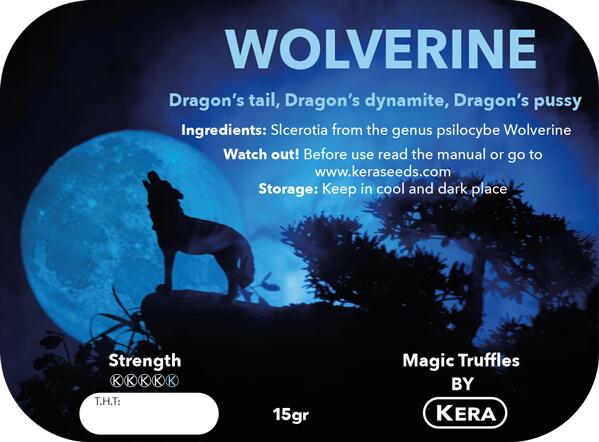 Magic Truffles By Kera – Truffel Wolverine – 15 gram